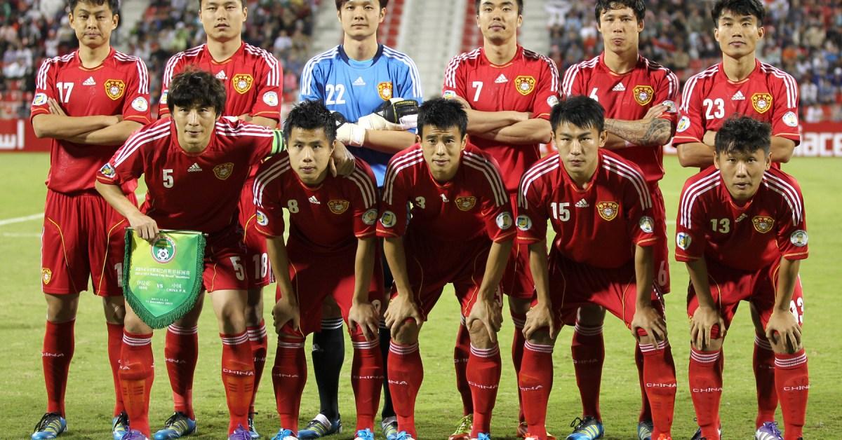 calcio Cina