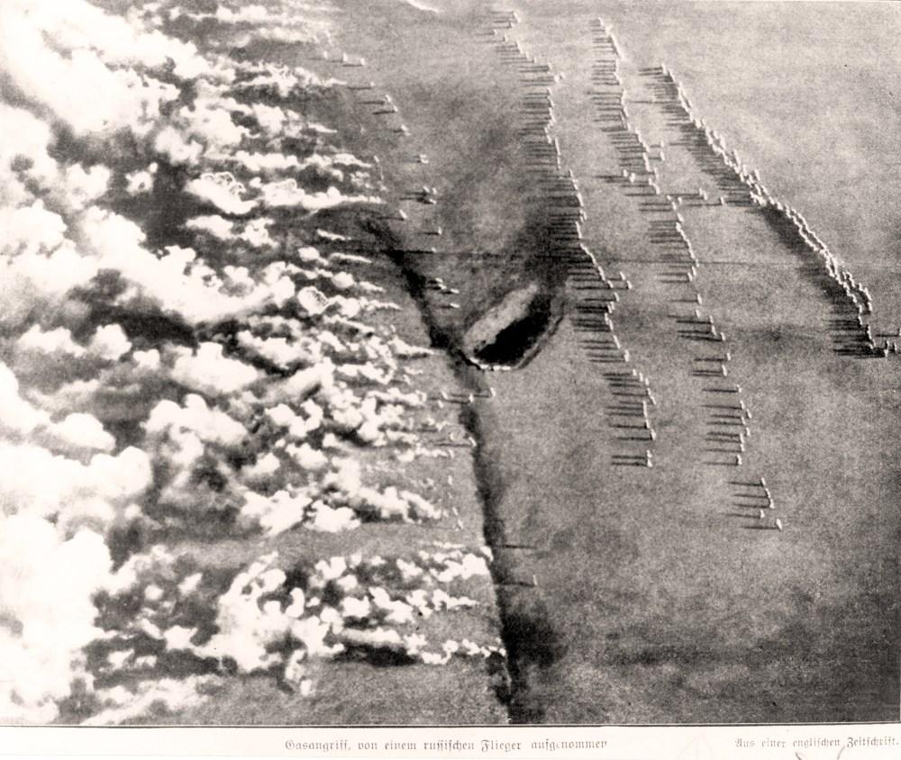 WW I - Gas Warfare 1916