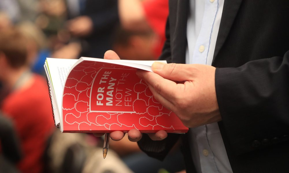 elezioni - UK - GB - 2017 - Laburisti - Jeremy Corbyn - programma