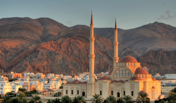 The Sultan Qaboos Grand Mosque, Muscat