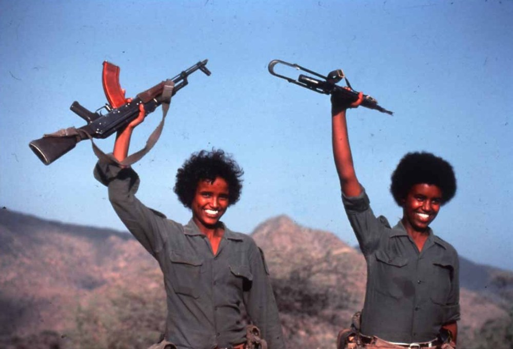 Eritrean freedom fighters