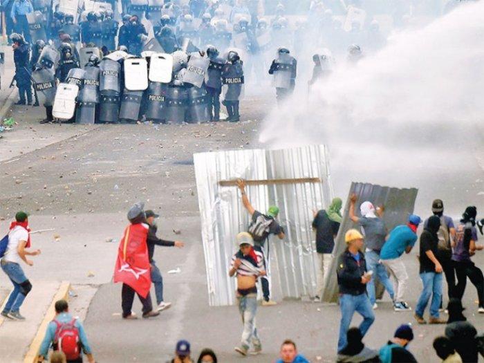 Scontri Honduras