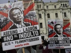 Perù, l'indulto all'ex presidente Fujimori fa scoppiare la rivolta