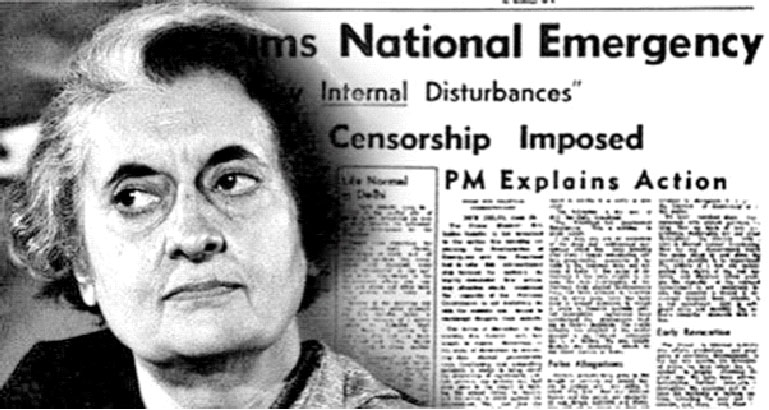 emergency-period-by-Indira-Gandhi