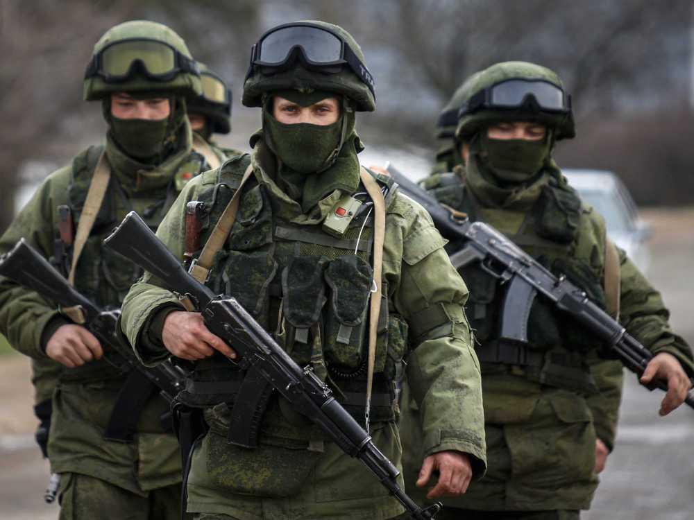 Little Green Men Ucraina