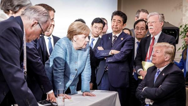 Trump-G7-Charlevoixe-Merkel