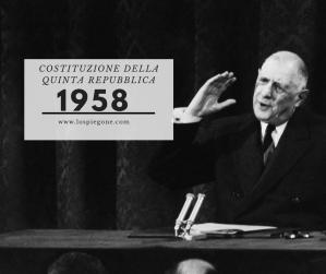 Ricorda 1958: De Gaulle e la Costituzione francese