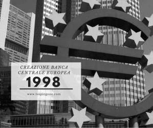 Ricorda 1998: la nascita della Banca Centrale Europea