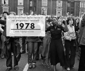 Ricorda 1978: la Dichiarazione sulla razza e i pregiudizi razziali