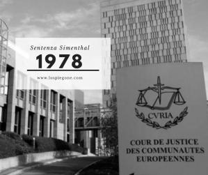Ricorda 1978: la sentenza Simmenthal