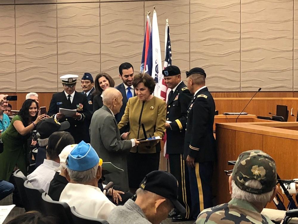 Jacky Rosen veterani