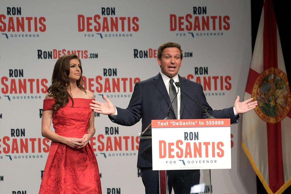 Ron DeSantis, Casey DeSantis