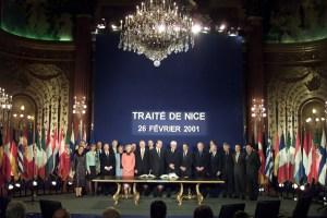 Nizza 2001: la crisi della spinta europeista