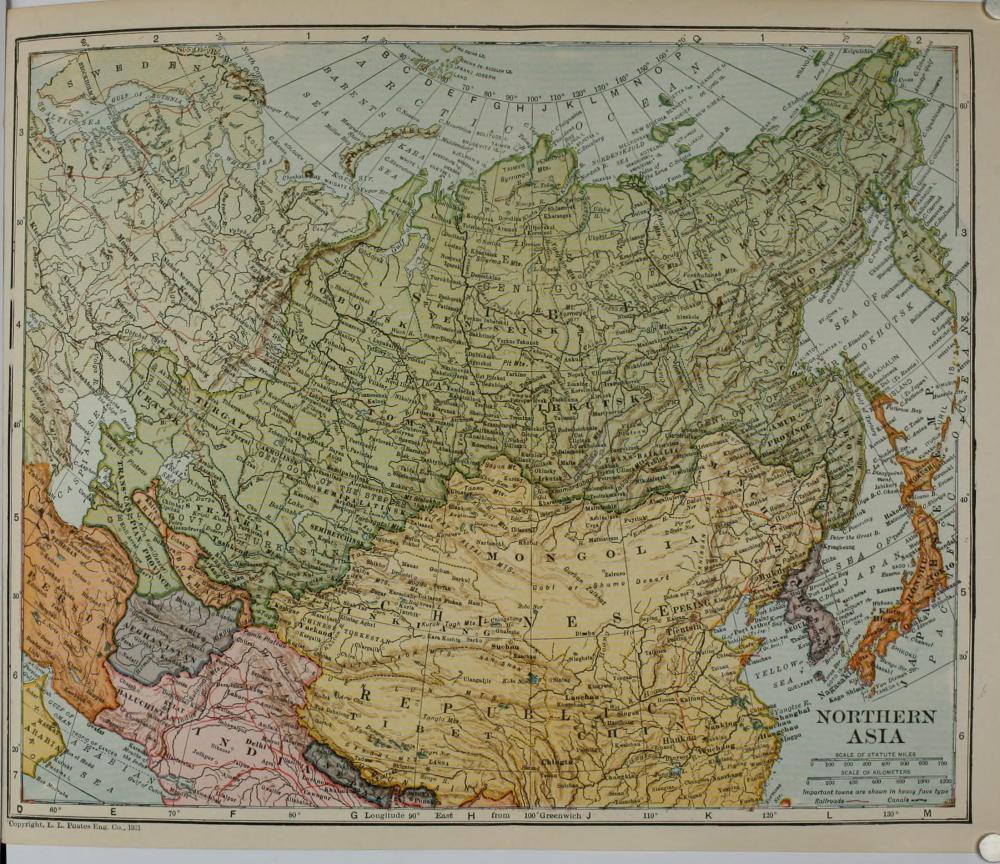 Mongolia nel 1921