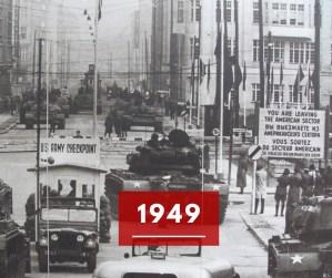 Ricorda 1949: la divisione della Germania