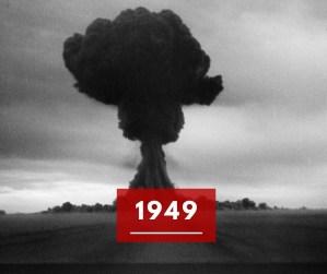 Ricorda 1949: quando i sovietici ottennero l'atomica