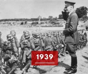 Ricorda 1939: lo scoppio della Seconda Guerra Mondiale