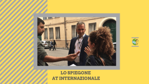 Lo Spiegone at l'Internazionale: interview with Wojciech Przybylski