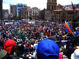La riorganizzazione del MAS senza Evo Morales