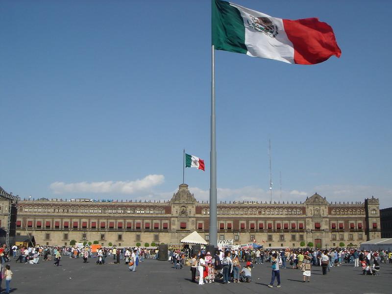 Palacio nacional Città del Messico