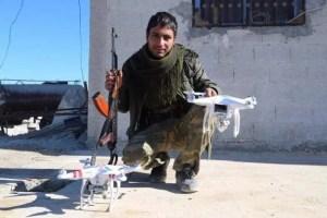 """Droni in mano """"nemica"""": Lo Stato Islamico"""