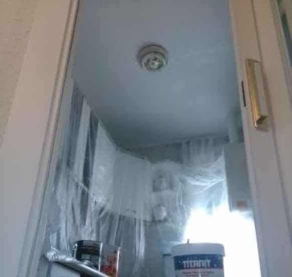 reparación de techo de cocina