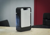 Matterform Photon 3D Scanner può essere chiusa per essere trasportata più agevolmente