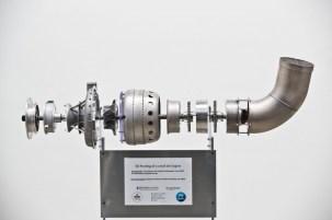 Uno dei due motori stampati in 3D