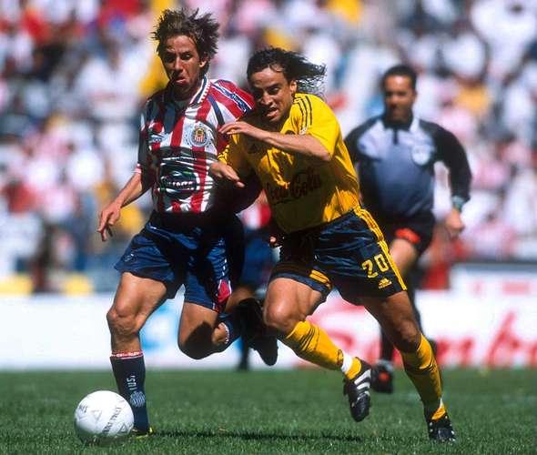 Chivas America clasico Estadio Azteca