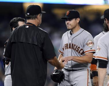 Giants MLB San Francisco No Hitter