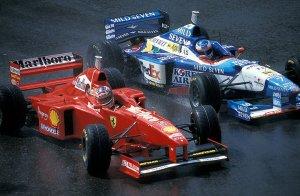 Michael Shumacher F1 Ferrari Triunfo Belgica Gran premio Automovilismo