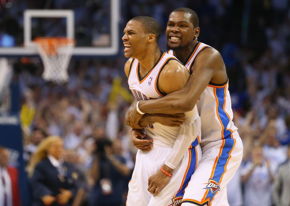 Durant NBA Westbrook