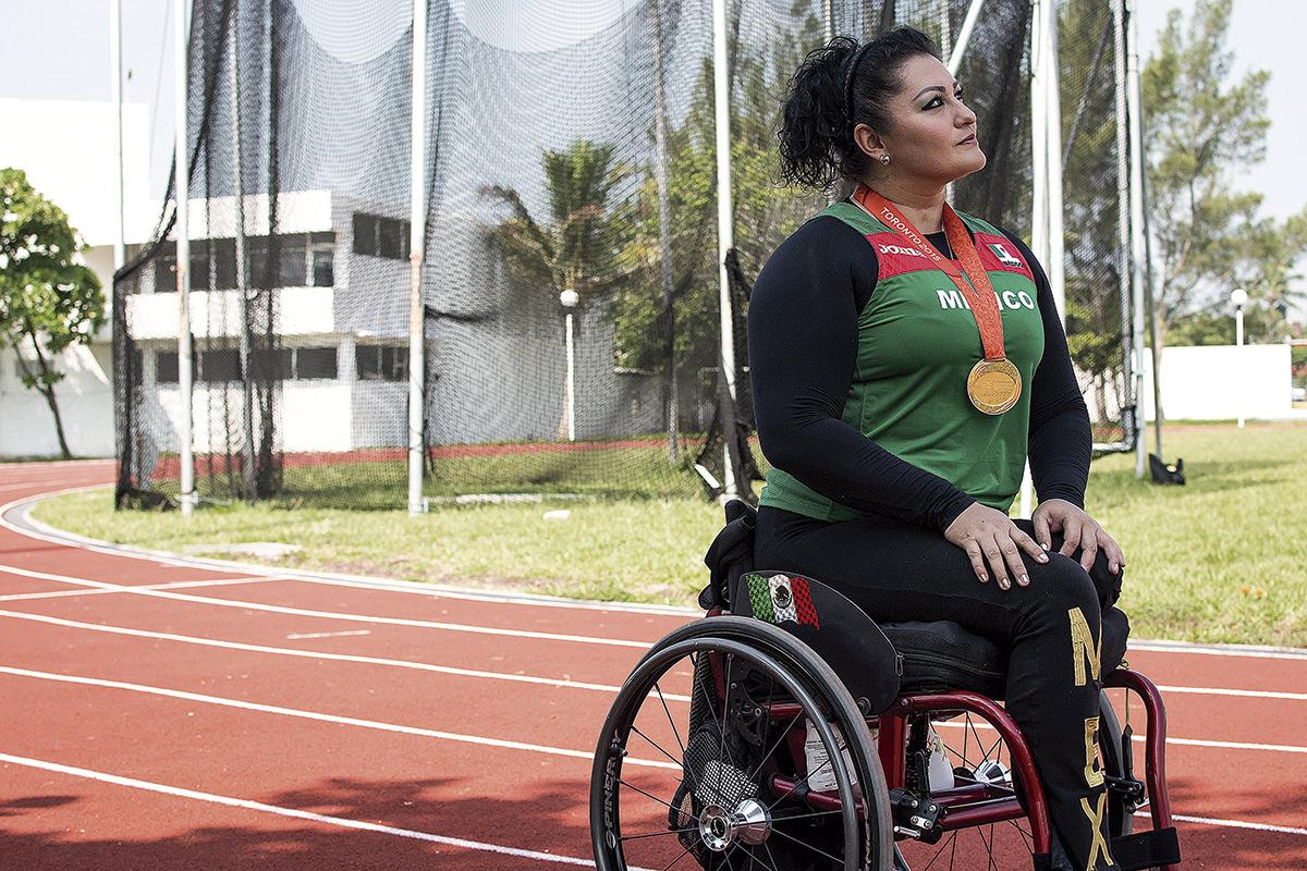 Ángeles Ortiz medalla oro