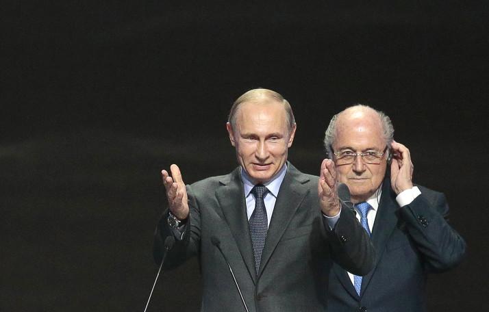 Andrei Arshavin Vladimir Putin