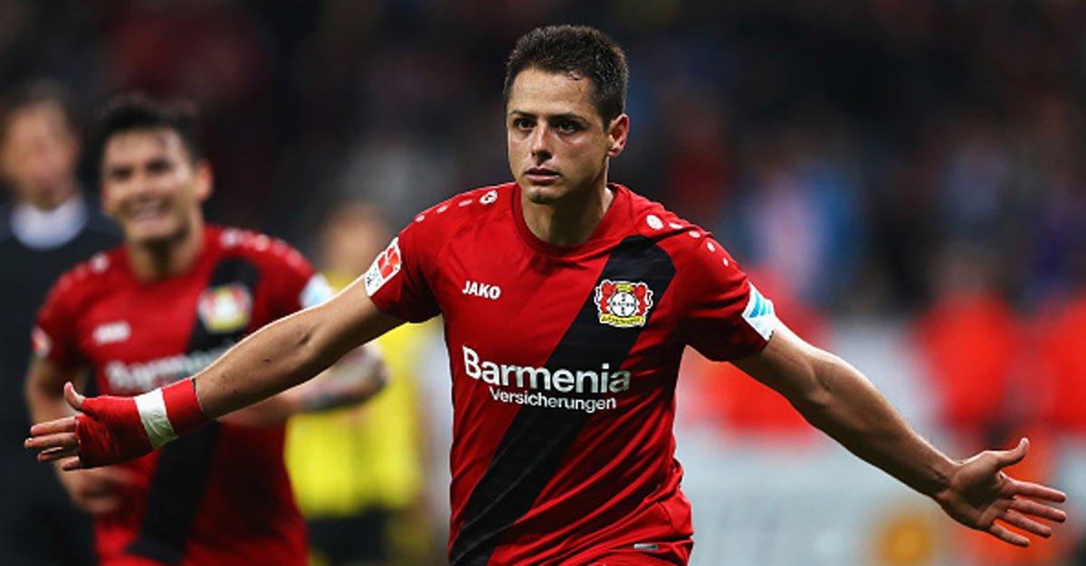 Javier Hernández Bayer Leverkusen Chicharito