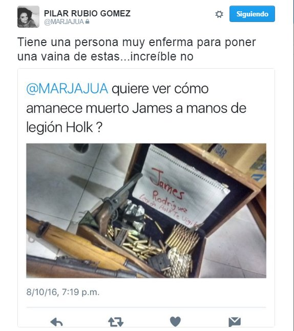 María del Pilar James