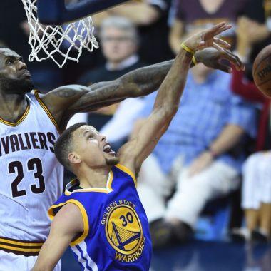 Warriors-LeBron-Cavs-Curry