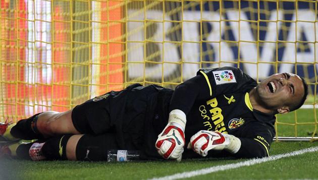 Sergio Asenjo lesión Buffon apoyo