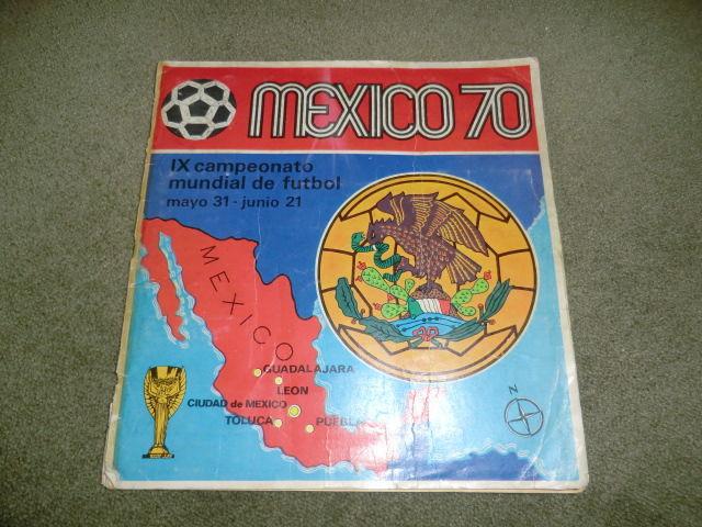 Álbum Panini México 70