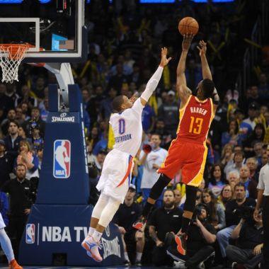 James Harden Russell Westbrook MVP NBA