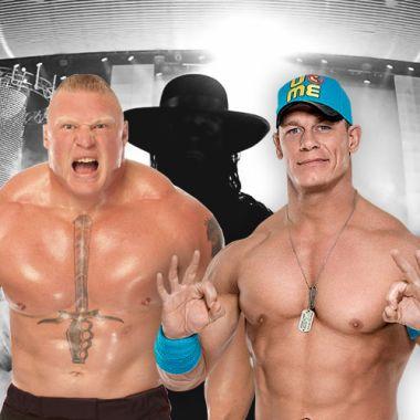 Undertaker retiro otro rival Cena Lesnar Sting Kane Michaels
