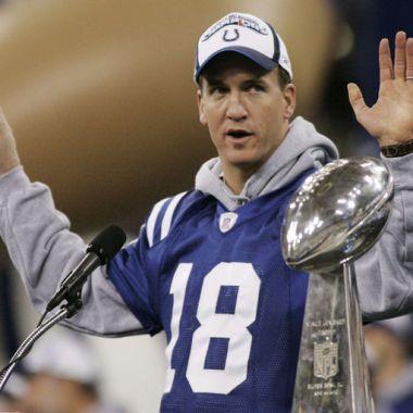 Indianapolis Colts Peyton Manning Retiro Número