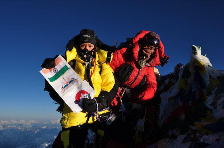 Anshu Jamsenpa Everest Escalar Dos veces