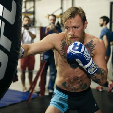 McGregor. Mayweather, preparación, box, ufc, instagram, video, publicación