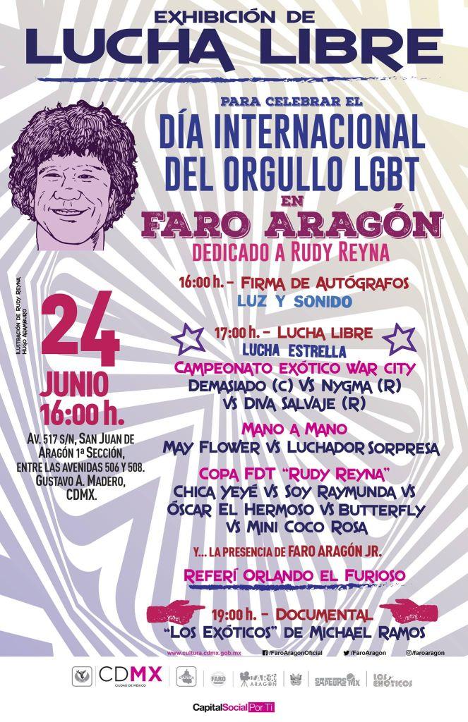 Luchadores exóticos Faro Aragón