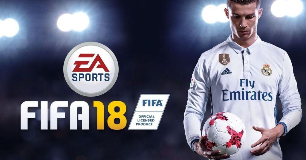 Cristiano Ronaldo Portada FIFA 18
