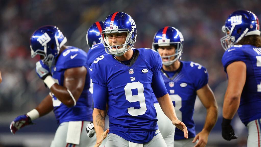 NFL, Brad Wing, Nicky Minaj, Giants