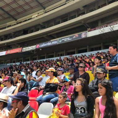 monarcas, morelia, liga femenil, asistencia, Veracruz, estadio morelos, aficionados
