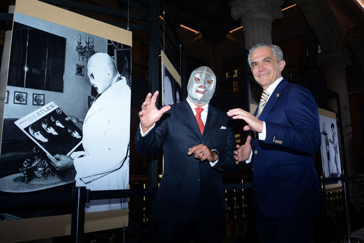 Santo Hijo del Santo 100 años Mancera CDMX Exposición