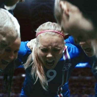 Islandia, Eurocopa, futbol femenil, comercial, futbol, equidad, género,
